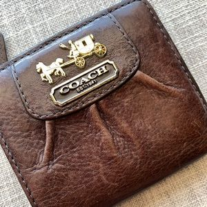 Coach Madison Small Leather Wallet